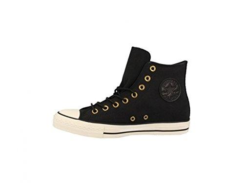 153808C|Converse CT All Star Leather Hi Black - 4