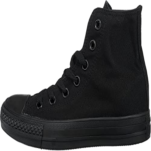 Converse Ctas, Unisex-Erwachsene Hohe Sneakers, Schwarz - 2