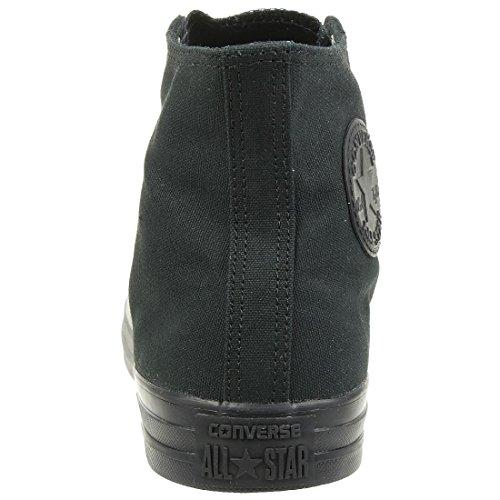 Converse Ctas, Unisex-Erwachsene Hohe Sneakers, Schwarz - 4