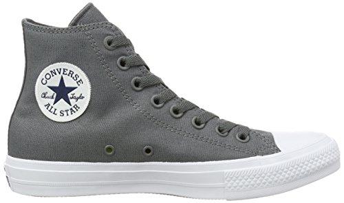 Converse Herren Chuck Taylor All Star II Lauflernschuhe Sneakers, Grau - 6