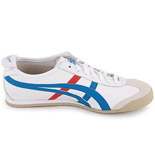 Onistuka Tiger Mexico 66 Unisex-Erwachsene Sneakers, Weiß - 5