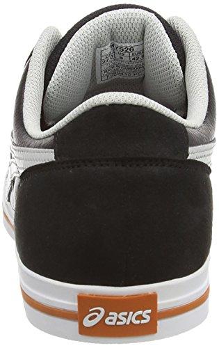 Asics Aaron, Unisex-Erwachsene Sneakers, Schwarz - 2