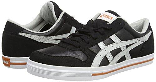 Asics Aaron, Unisex-Erwachsene Sneakers, Schwarz - 4