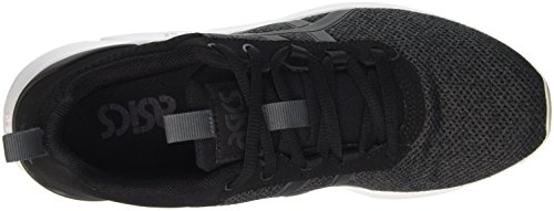Asics Unisex-Erwachsene Gel-Lyte Runner Sneakers, Schwarz - 5