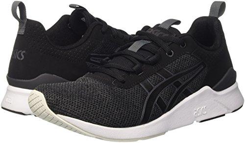 Asics Unisex-Erwachsene Gel-Lyte Runner Sneakers, Schwarz - 7