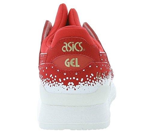 Asics Gel Lyte III Damen Sneaker rot weiß - 7