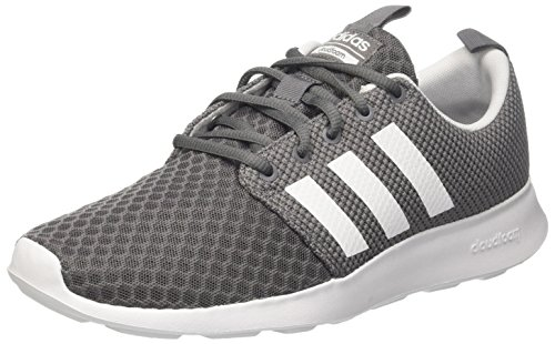 adidas Herren Cloudfoam Swift Racer Laufschuhe, Grau (Grey Four/Core Black/Footwear White 0), 46 EU