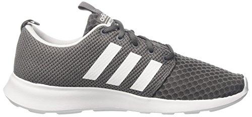 adidas Herren Cloudfoam Swift Racer Laufschuhe, Grau (Grey Four/Core Black/Footwear White 0), 46 EU - 6