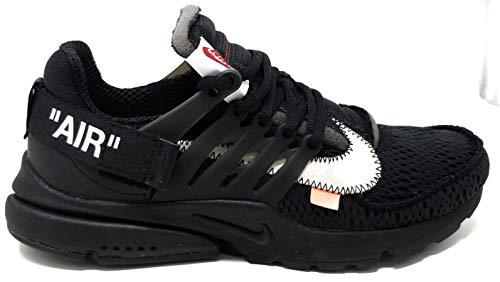 Nike Air Presto x Off White - Black/White-Cone