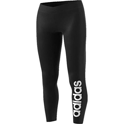 adidas Damen Essentials Linear Tights, Black/White, M - 5