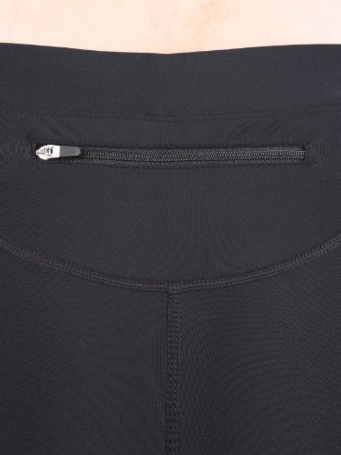 Ultrasport Damen Laufhose, Kurz, black turquioise, XL, 10284 - 4