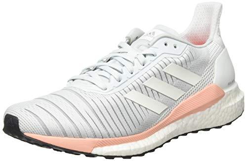 adidas Damen Solar Glide 19 Straßenlaufschuhe, Blutin/Ftwwht/Glopnk