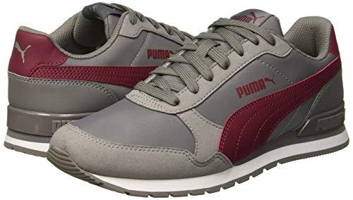 PUMA Unisex-Erwachsene St Runner V2 Nl Sneaker, Grau (Charcoal Gray-Cordovan 15), 44 EU - 7